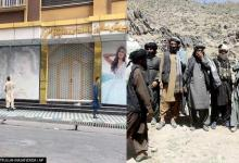 As Taliban re-conquers Afghanistan, posters of women seen being whitewashed in Kabul