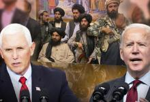 Bidens disastrous strategy weakness towards Taliban led to Afghan crisis, says Pence