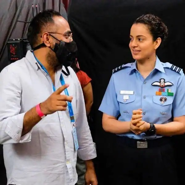 Tejas: Kangana Ranaut begins shooting for her next with a reference from Vicky Kaushal's famous dialogue from URI