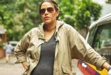 नेहा धूपिया ने आरएसवीपी की आगामी थ्रिलर, ए थर्सडे में एक गर्भवती पुलिस वाले की भूमिका निभाई है