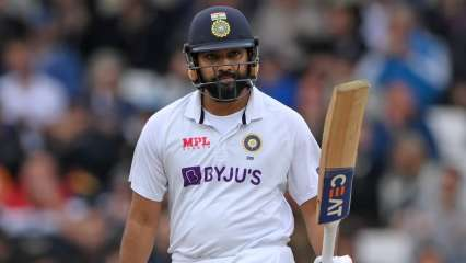 ENG vs IND: Half-centurion Rohit Sharma, Cheteshwar Pujara get India through to tea with wicketless session