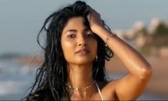 नवीनतम अल्ट्रा ग्लैम पिक्स और वीडियो के साथ कीर्ति पांडियन हॉटनेस को चरम स्तर पर ले जाती हैं