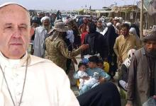 I pray: Pope Francis urges countries to welcome and protect Afghan refugees