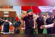 Amarinder Singh pays tribute to the martyrs of the Saragarhi shares pics