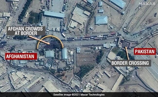 Exclusive: पाकिस्तान सीमा पर बड़ी संख्या में इकट्ठा हैं अफगान नागरिक, Satellite Images आई सामने