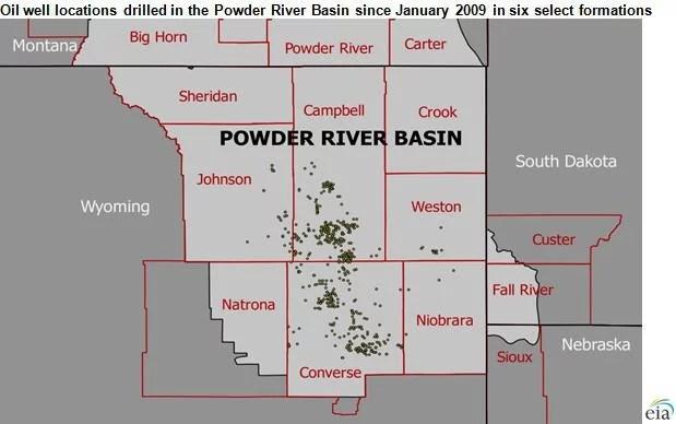 फेड ने व्योमिंग के पाउडर नदी बेसिन में 5,000 नए तेल कुओं को ड्रिल और फ्रैक करने की योजना को मंजूरी दी