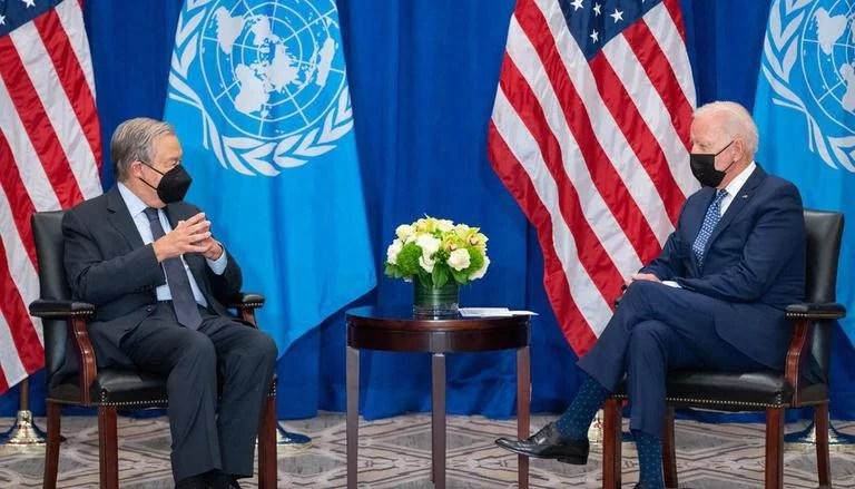 Joe Biden meets Antonio Guterres, reaffirms strong partnership of US and UN