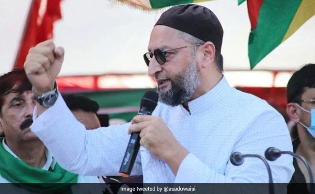 'BJP की हुकूमत देश को क्या पैगाम देना चाहती है', दिल्ली में घर पर तोड़फोड़ के बाद बोले ओवैसी