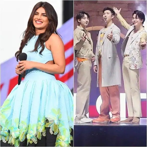 Priyanka Chopra and BTS' back-to-back performances at Global Citizen Concert spark speculations of the Bangton Boys' tour to India