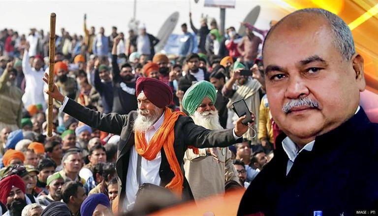 Union Min Narendra Singh Tomar asks farmers to quit agitation, engage in talks with govt
