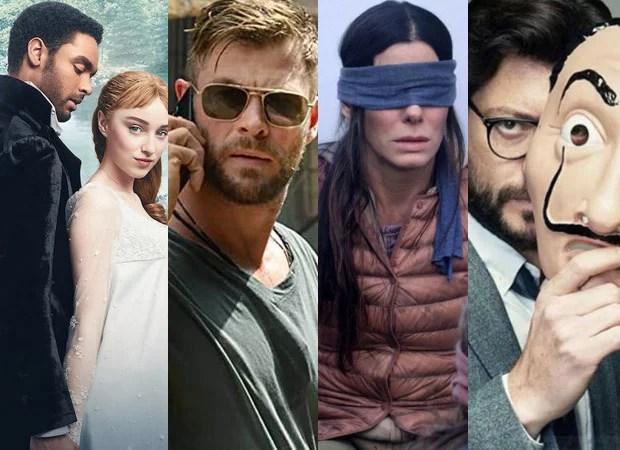 नेटफ्लिक्स पर शीर्ष 10 फिल्मों और श्रृंखलाओं में ब्रिजर्टन, एक्सट्रैक्शन, बर्ड बॉक्स, मनी हीस्ट