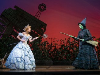 Allison Bailey & Talia Suskauer in the North American Tour of WICKED (E). Photo by Joan Marcus.