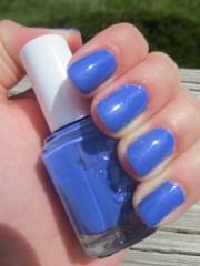 blue nail polish beauty and books