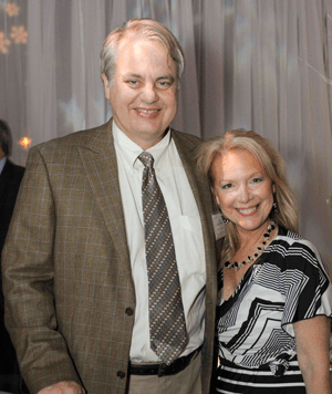 JRocket Marketing's Judith Rothrock with Brian Sommer, President and Founder of TechVentive