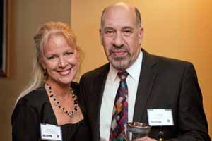 Judith Rothrock with Brian Stein, CEO Syspro US
