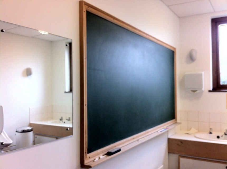 Proper Mathematicians Blackboard Newton Institute