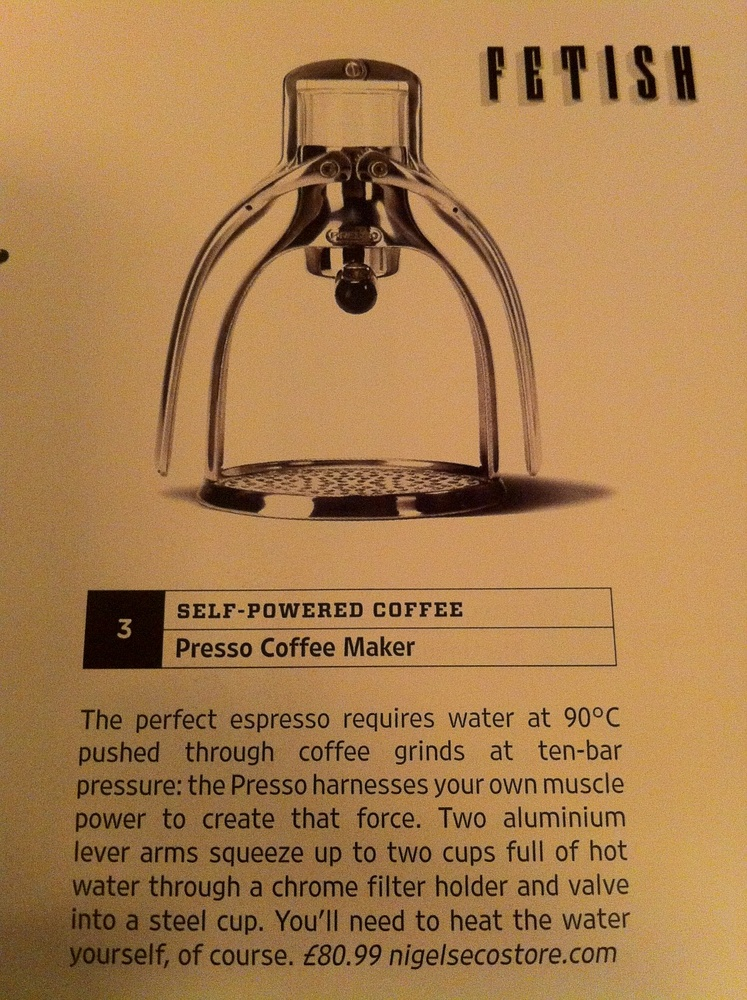 Self Powered Coffee