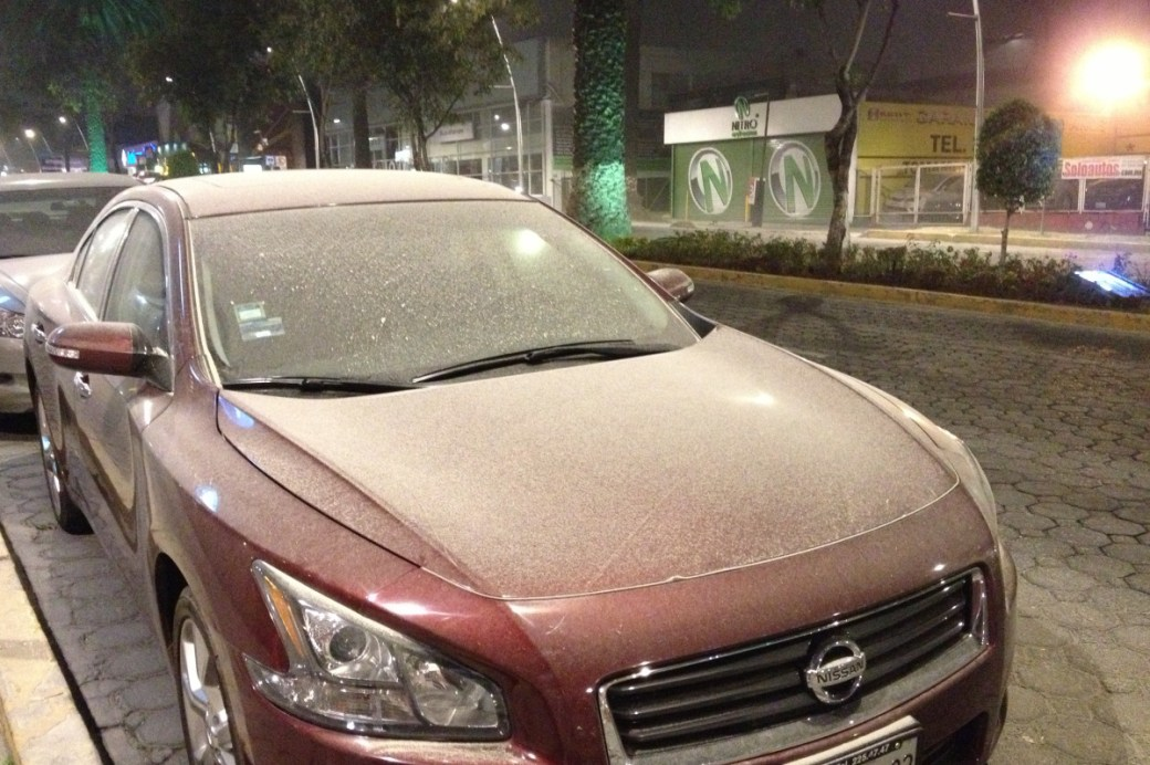Popocatepetl ash 2