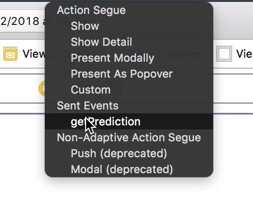 Select GetPrediction