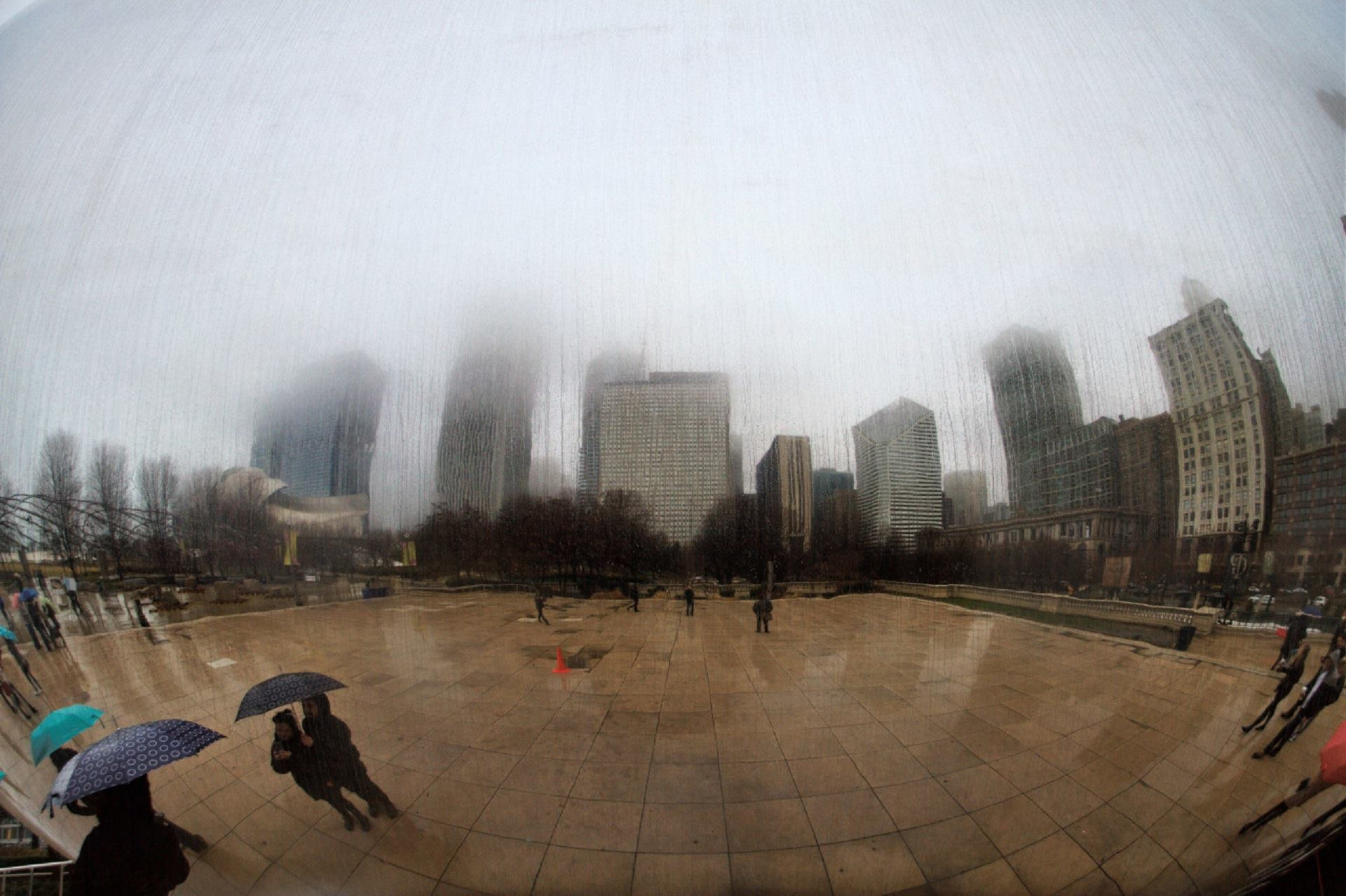 Reflection in the Bean, Chicago