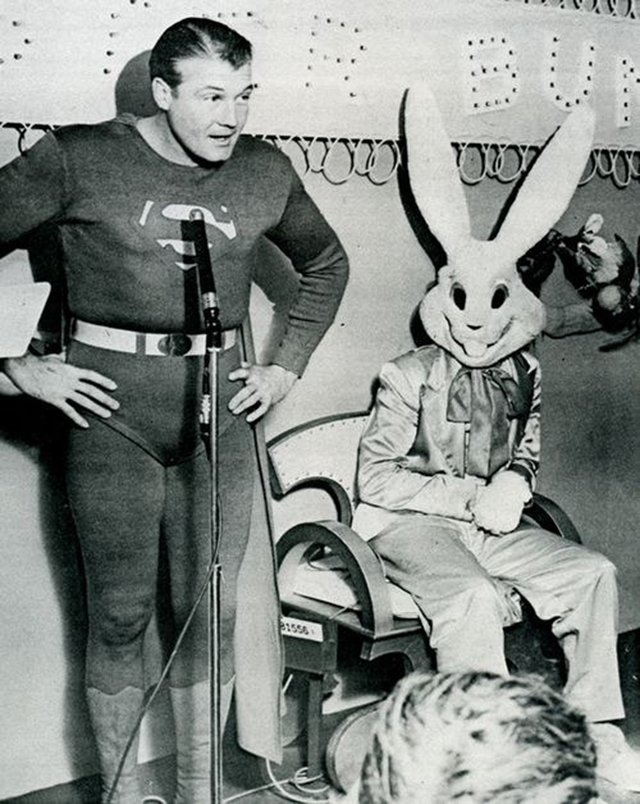 Creepy and Disturbing Vintage Easter Bunny Photos