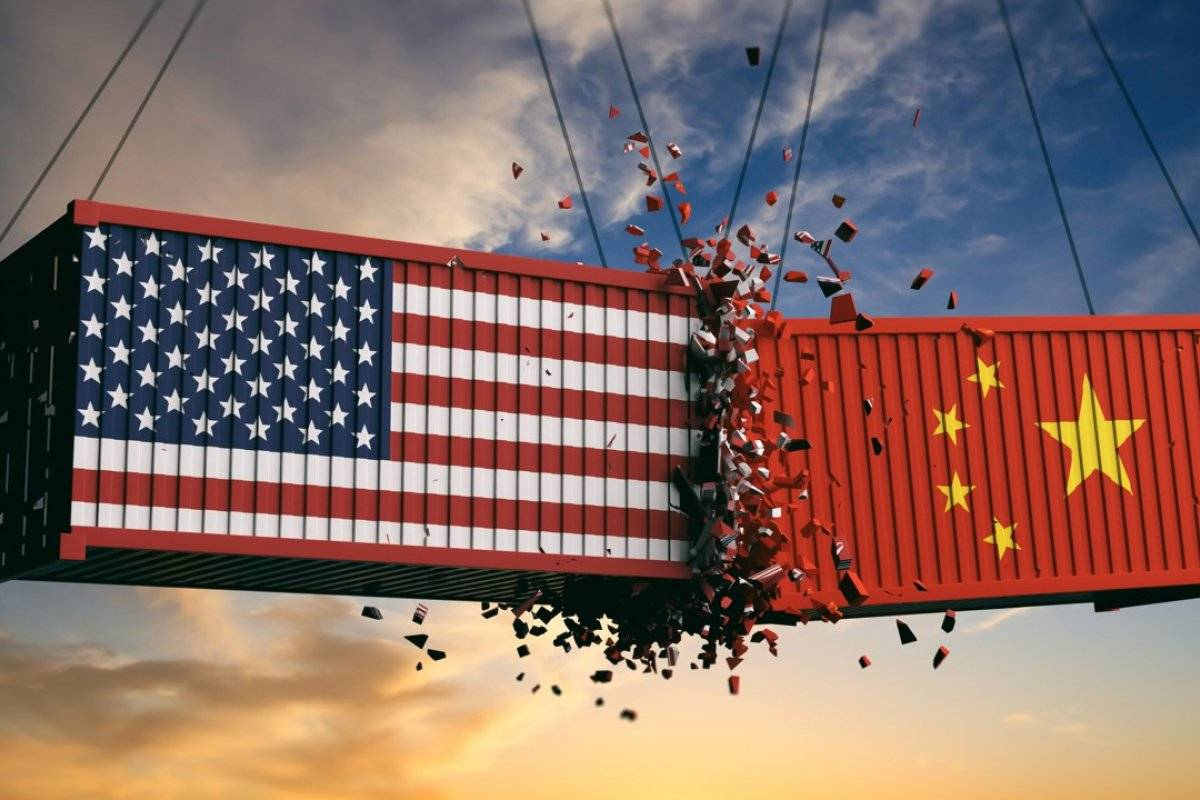 What does the US vs. China trade war do to gold