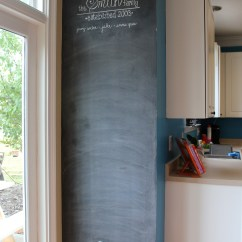 Chalkboard In Kitchen Rubber Flooring Accent Wall Inspiration Wednesday Project