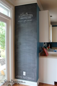 Chalkboard Accent Wall :: Inspiration Wednesday Project ...