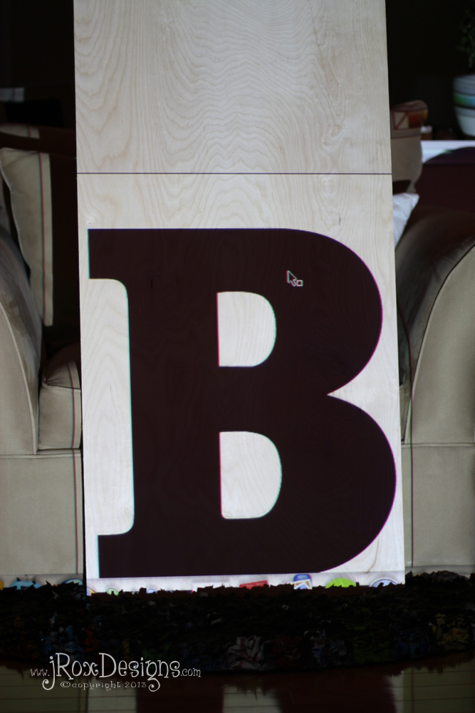 Where Do Big Wooden Letters Come From? JRoxDesigns