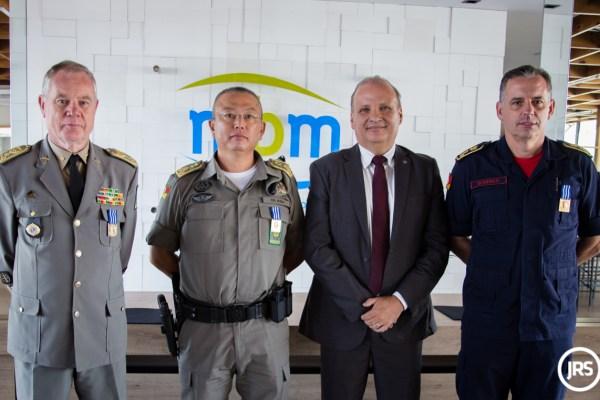 Grupo MBM homenageia instituições militares