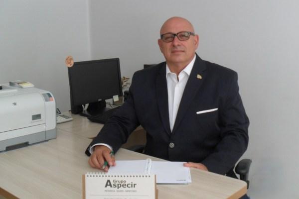 O Diretor Comercial da União Seguradora, João Lock / Divulgação