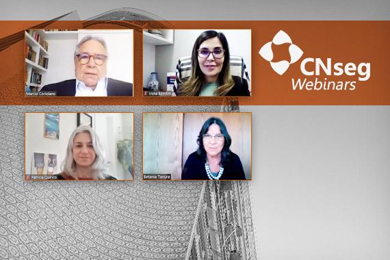 CNseg Webinars discutiu impactos do trabalho remoto na cultura organizacional e na legislação