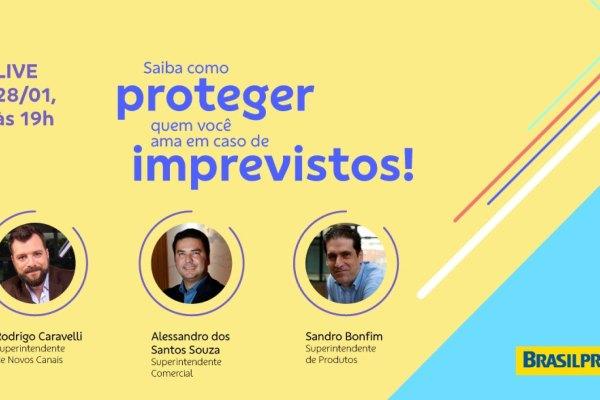 Live Brasilprev explica as coberturas de risco em planos de previdência