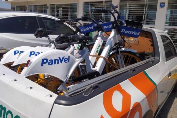 Panvel inaugura delivery sustentável com bikes elétricas / Divulgação