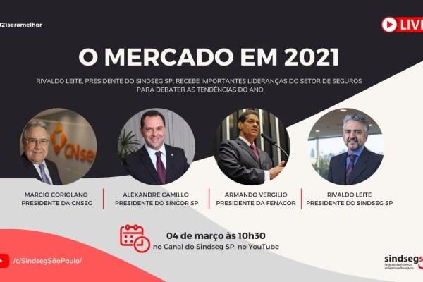 Presidente do Sindseg-SP recebe lideranças para debater as tendências do ano
