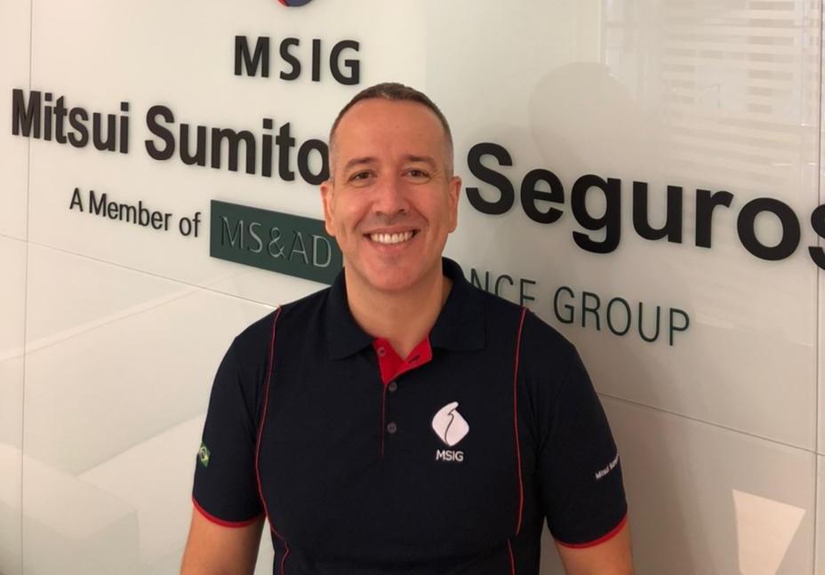 Flavio Zopello é o novo Diretor Comercial da Mitsui Sumitomo Seguros / Reprodução