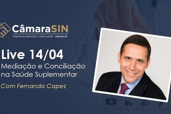 Fernando Capez destaca importância da mediação e conciliação para desafogar o judiciário / Reprodução