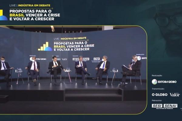 Debate da CNI reúne líderes com 'propostas para o Brasil vencer a crise' / Divulgação