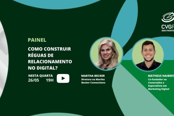 Painel do CVG RS aborda construção de réguas de relacionamento no ambiente digital