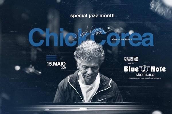 Porto Seguro Cartões e Blue Note São Paulo comemoram Mês do Jazz
