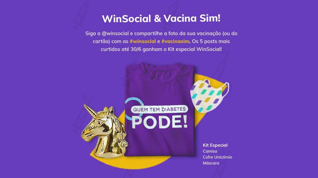 WinSocial lança campanha para incentivar vacinação