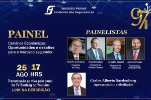 Sindseg PR/MS comemora 97 anos com evento único e imperdível para seguradores e corretores / Divulgação