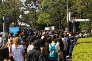 As últimas edições presenciais da Feira USP e as Profissões na capital foram realizadas no Parque de Ciência e Tecnologia (CienTec) da USP / Divulgação