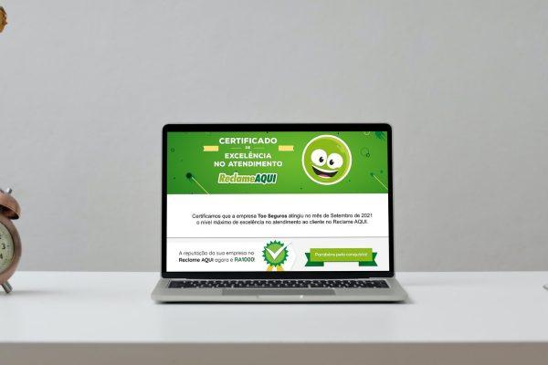 Too Seguros conquista Selo RA1000 de atendimento / Divulgação