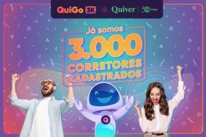 QuiGo bate mais de 3 mil corretores cadastrados / Divulgação