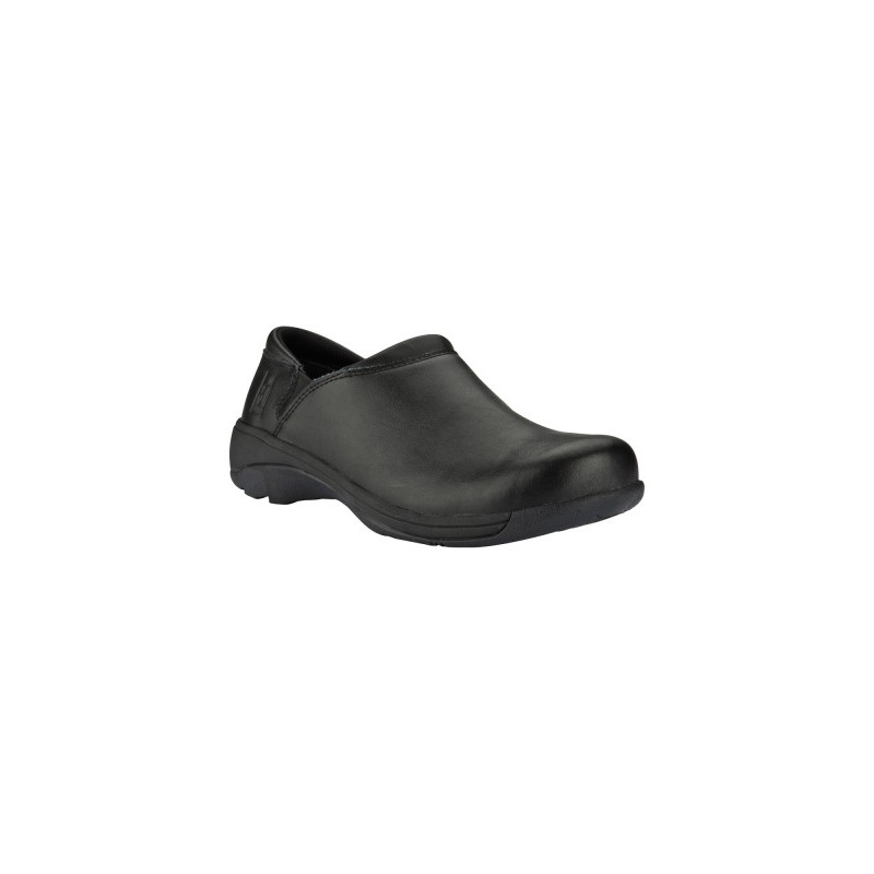 All Black Slip Resistant Shoes