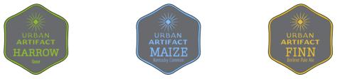 Urban Artifact's flagship beers (from artifactbeer.com)