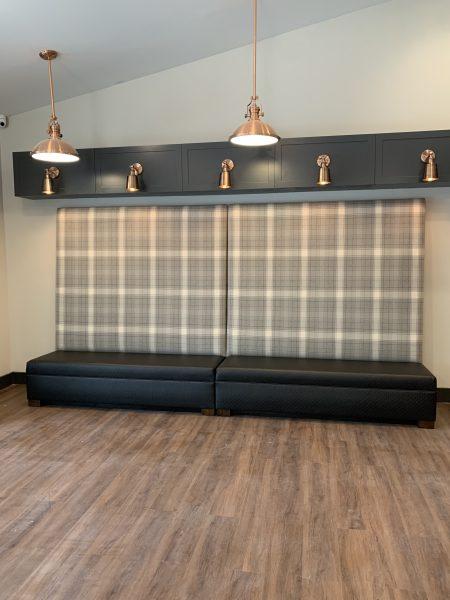 Interiors by Banko Designs - Banquette through JRW Custom