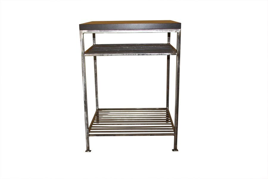 Custom Iron Side Table