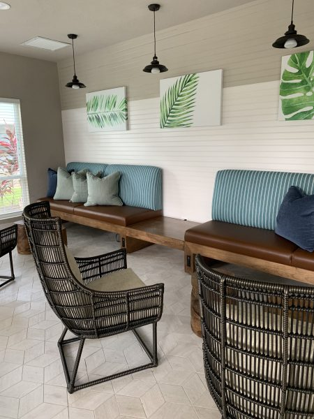 Interiors by Banko Designs - Banquette through JRW Custom